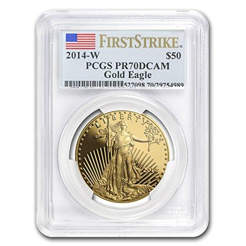 2014 W 1 oz Proof Gold American Eagle PR-70 PCGS (FS) 1 OZ PR-70 PCGS