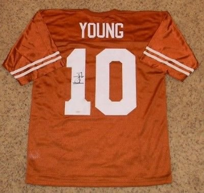 Vince Young Autographed Signed Ut Texas Longhorns #10 Nike Jersey (authenticated by - Nike Jerseys Texas