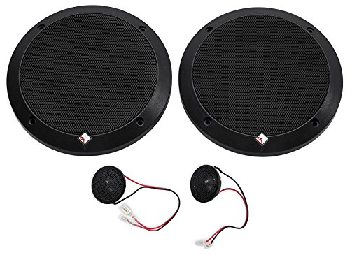 2-Pairs Rockford Fosgate P1675-S Punch 6.75'' 240w Car Audio Component Speakers by Rockford Fosgate (Image #1)