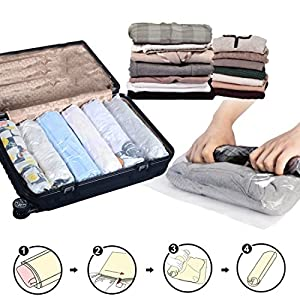 Hometop 12 Pack Travel Space Saver Bags Surprisingly Good For The