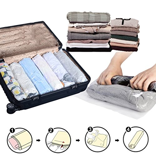 12 pack Travel No Vacuum Compression Perfect product image