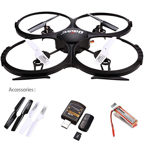 51t3UYJccuL UDI RC U818A Gyro Quadcopter Review