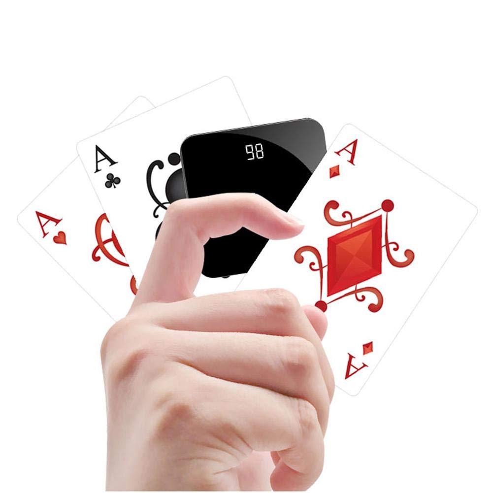 Chargeur portable 8000 Mah Mini Power Bank Polym/ère externe en m/étal de grande capacit/é Mobile Power Compatible IPhone XS Max XR 8 7 6 5 Plus IPad T/él/éphone portable Android Galaxy Note LG Gopro