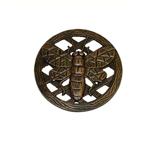 Oakland Living Stepping Stone, Bee, Antique Bronze