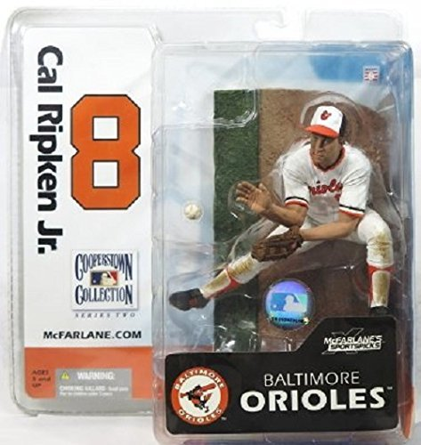 Cal Ripken Baltimore Orioles 6 Inch Action Figure McFarlane Cooperstown Collection Series 2
