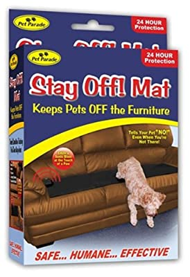 Sonic Repellent Stay Off Mat For Dogs And Cats by Pet Parade