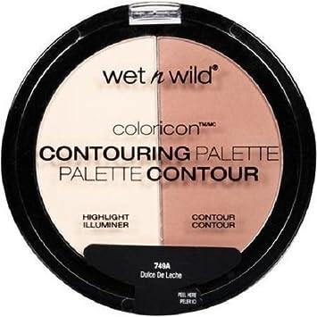 Image Unavailable. Image not available for. Color: WET n WILD MegaGlo Contouring Palette - Dulce De Leche ...