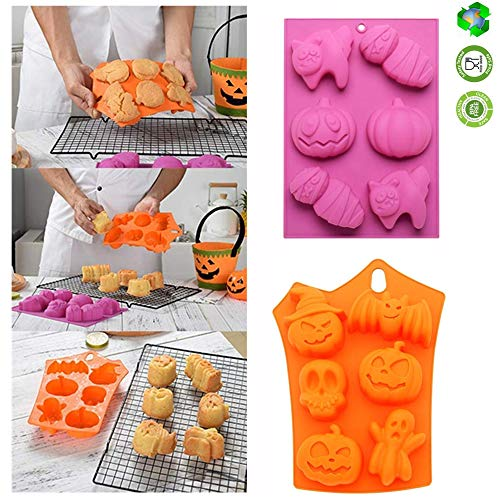 Halloween Mould Silicone Cake Mould Halloween Model Silicone