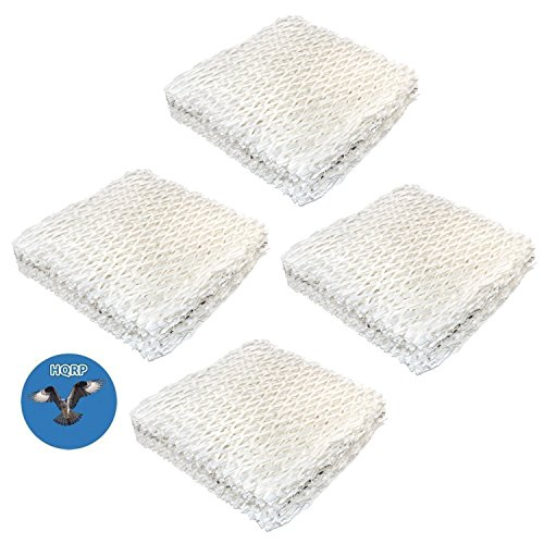 HQRP Wick Filter (4-Pack) for Sears Kenmore 14803, 14804, 14103, 14104, 14113, 14114, 14121, 14122 Humidifiers Coaster (Humidifier Filters Kenmore 14114)