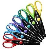 6 Colorful Decorative Edge Scissor Set For Fuji Instax Mini 9, 26, 8, 7 Instant Camera Projects