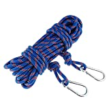ROSY CLOUDS Safety Rock Climbing Rope, Perfessional Rappelling Auxiliary, Diameter 10mm,100% Quality assurance New(Blue