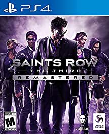Saints Row The Third - Remastered - PlayStation 4 Remastered Edition
