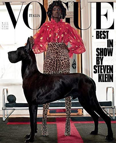 Vogue Cafe Wall - Vogue Italia Magazine (May, 2019) Best In Show By Steven Klein Anok Yai Cover