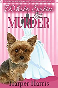White Satin & Murder by Harper Harris ebook deal
