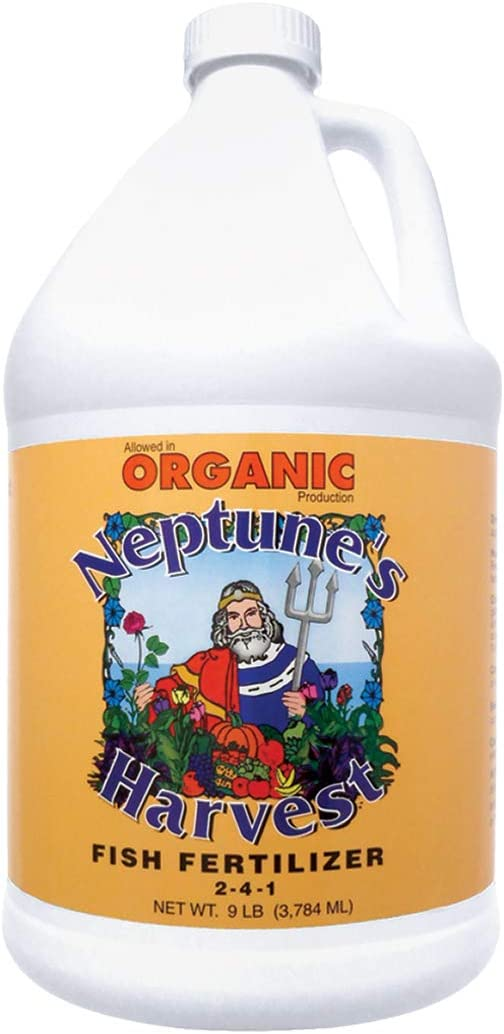 Neptune's Harvest Fish Fertilizer 2-4-1, Gallon