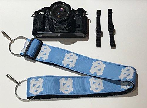 North Carolina Optic - NCAA Collegiate Camera Strap - University of North Carolina UNC Tar Heels