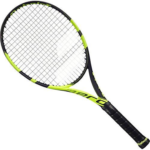 - Babolat Pure Aero Junior 25 Inch Black/Yellow Tennis Racquet (4