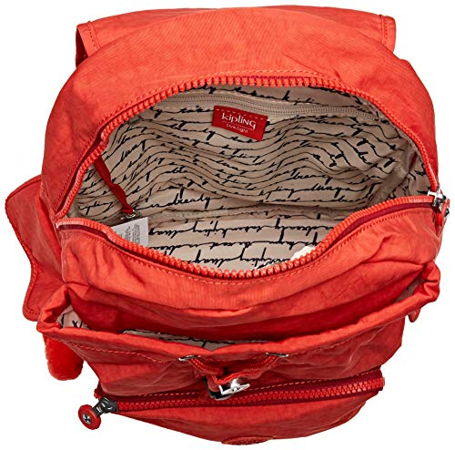 Borsa Kipling Red Cm Donna City Zainetto 27x33 5x19 A Pack active S Rosso q1B1t