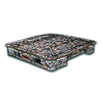 Image of AirBedz Camo PPI 401 Full Size 8' Long Bed with Built-in Rechargeable Battery Air Pump Home and Kitchen