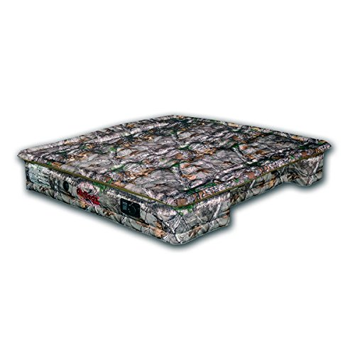AirBedz Camo 405-Mid PPI 405 Mid Size 5'-5.5' Short Bed with Built-in Rechargeable Battery Air Pump with Tailgate Mattress ()