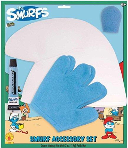 Smurfs 2 Smurf Wig and Make Up Accessory (Smurfs Party Ideas)