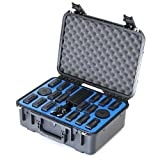 Go Professional Cases Case for 16 DJI Inspire 2 Batteries, 2 180W Chargers and 2 Charging Hubs