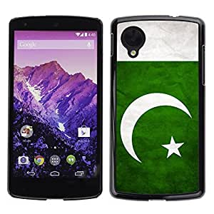 Shell-Star ( National Flag Series-Pakistan ) Snap On Hard Protective Case For LG Google NEXUS 5 / E980