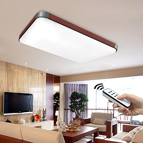 Natsen I501H LED Ceiling/Wall Light Modern 48W-Braun: Amazon.co.uk ...