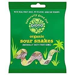 Biona Organic Sour Snakes 75g
