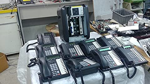 Toshiba Strata CTX-100 Phone System, 8 port digital station card, RCOU3A V.1 Coline Card, RC0S3A V.1 Coline Card, Strata GX Voicemail, VP8 2Port, 5 DKT 3010-SD, 1 DKT 2020-SD, - 8 Digital Stations