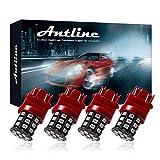 Antline 3157 3156 3057 4157 3056 LED Bulbs Brilliant Red, 12-24V Super Bright