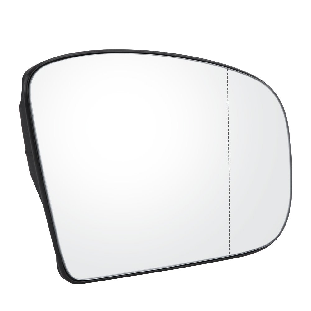 Right Side Qiilu Car Door Side Wing Heated Mirror Glass for Mercedes W220 1999-2003 2208100321