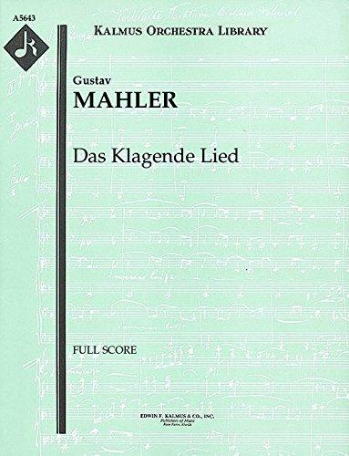 Das Klagende Lied: Full Score [A5643] by E.F.Kalmus
