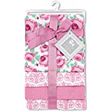 Regent Baby 4 Piece Receiving Blanket, Pink
