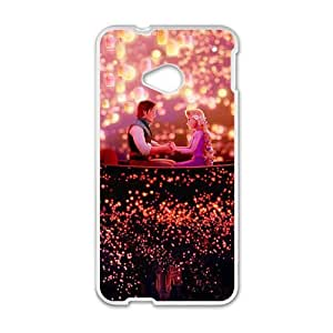 Princess Prince Love Story White HTC M7 case