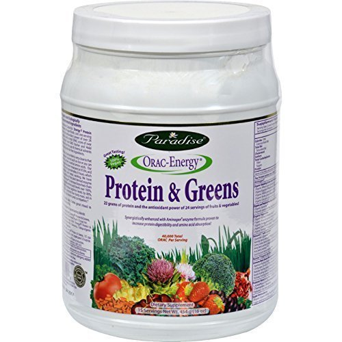 Orac Energy Protein Greens, 454 gm ( Multi-Pack) Review