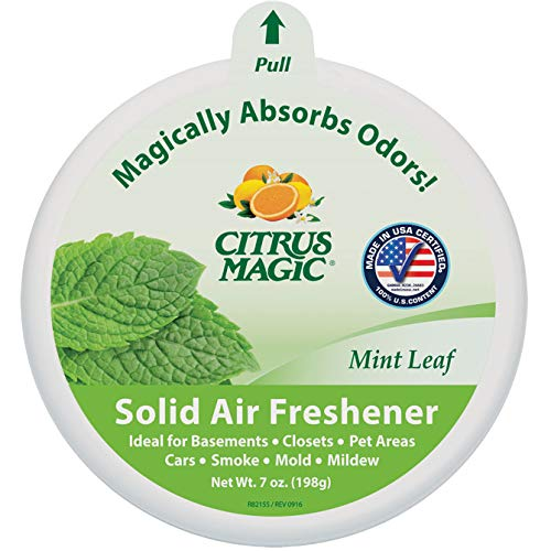 (Citrus Magic Solid Odor Absorber,Mint Leaf, 7-oz. (Pack of 3))