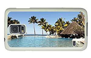 Hipster Samsung Galaxy S5 Case pretty fiji islands paradise PC White for Samsung S5