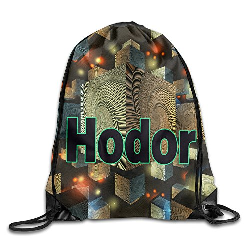 Price comparison product image Show Time Hodor Hold The Door Backpack Gymsack Drawstring Sack Bag