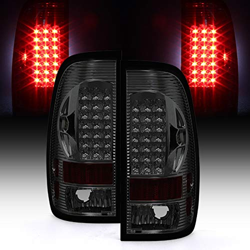 1997-2003 Ford 150 99-07 F250 F350 Superduty LED Tail Lights Brake Lamps ()
