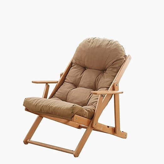 Mecedoras ZHAIZHEN Silla Lounge Gravity Silla de jardín reclinable Tumbona de Playa Sillones reclinables con 3 Posiciones Ajustables para Patio al Aire Libre (Color : Caqui, Tamaño : Chair): Amazon.es: Hogar