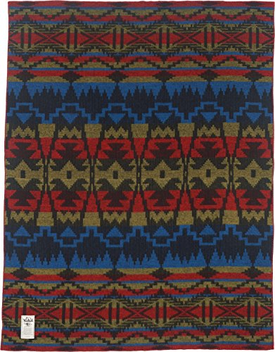 Woolrich Home Horizon View Dobby Blanket, Aztec -  - blankets-throws, bedroom-sheets-comforters, bedroom - 51t3ddxnNIL -