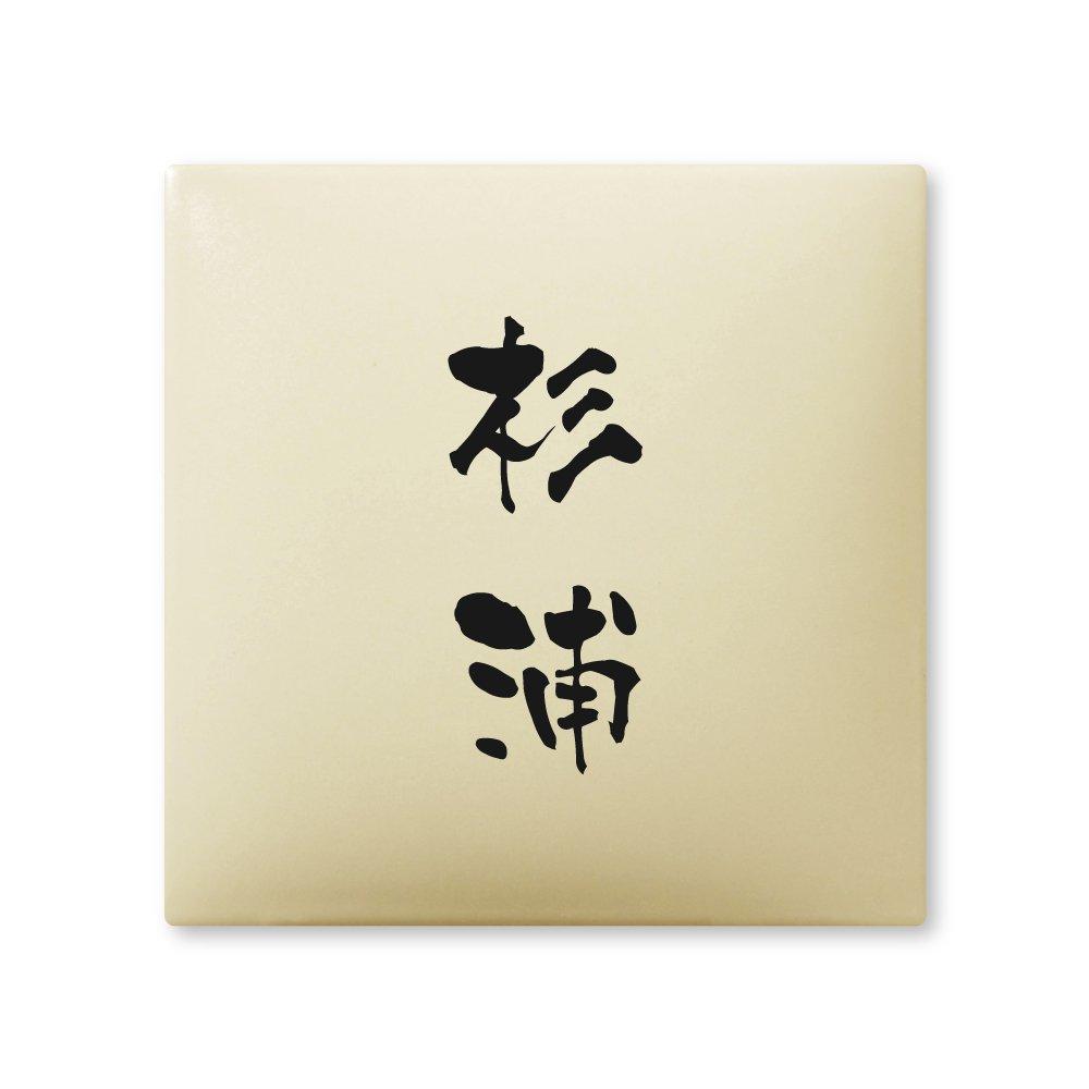 丸三タカギ 彫り込み済表札 【 杉浦 】 完成品 アークタイル AR-1-2-3-杉浦   B00RFAGDQS