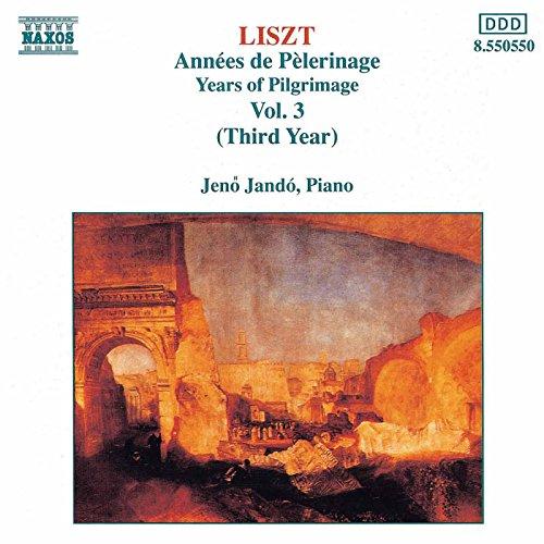 Années de pèlerinage, Book 3, S. 163: IV. Les jeux d'eau a la Villa d'Este (The Fountains of the Villa d'Este) (Liszt Fountains Of The Villa D Este)