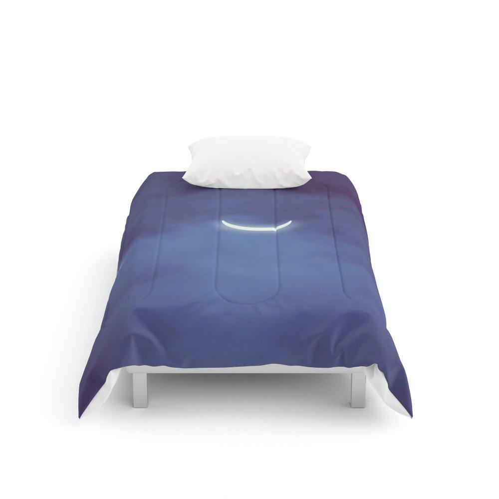Society6 Solar Eclipse Comforters Twin: 68'' x 88''
