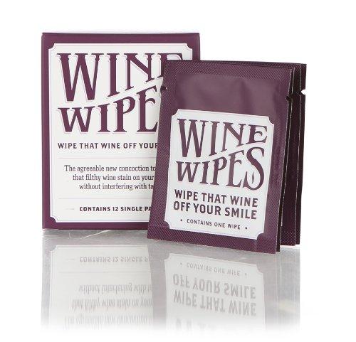 Wine Wipes - Single Pack Box (Wipes Wine)