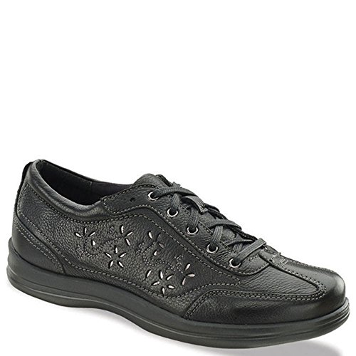 Grain Apex Oxford Full Robyn Black Leather Women's pSXxEwqpr