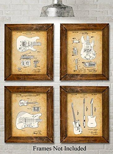 Original Fender Guitars Patent Art product image