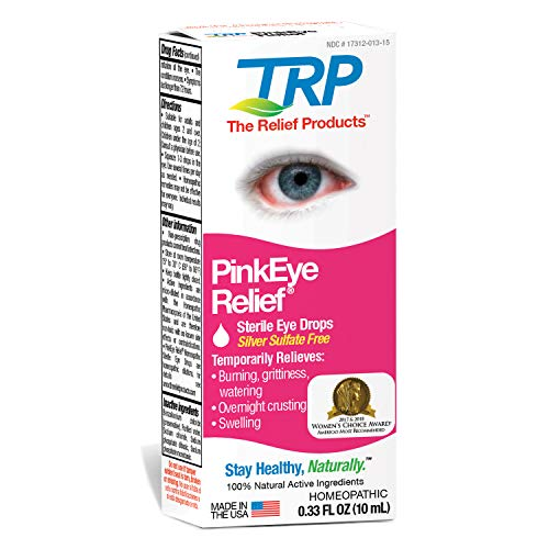 TRP Company Eye Relief, Pink, 0.33 Ounce ()