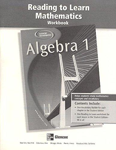 Algebra 1 Reading to Learn Mat PDF